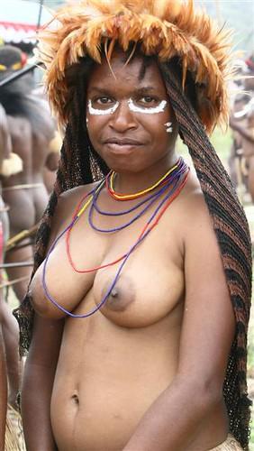 woman of Dani tribe