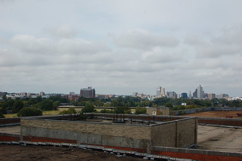 From the roof of the Sears Crosstown Building