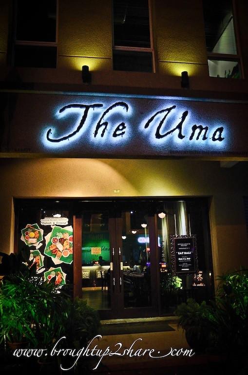 The Uma Balinese Restaurant Kota Damansara Brought Up 2 Share