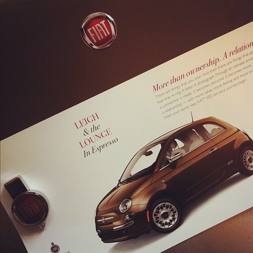 Nice touch Fiat!