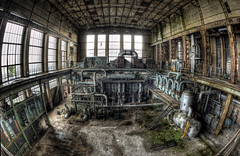 The machine (odin's_raven) Tags: urban abandoned station hall power belgium exploring explorer main powerstation hdr ue urbex ecvb talkurbex