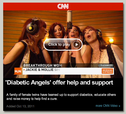 'Diabetic Angels' offer help and support - Click to play!