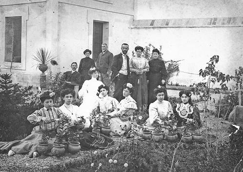 Abuelos y familia de Carmen Bellido
