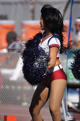 Cheerleaders, Montreal Alouettes, Sony A55, Minolta 500mm Reflex Lens, Montreal, 10 October 2011  (76) (proacguy1) Tags: cheerleaders montreal cheer cheerleader cheerleading montrealalouettes sonya55 minolta500mmreflexlens 10october2011