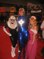 Black Cat, Dazzler and ?? (Honky275) Tags: blackcat dazzler