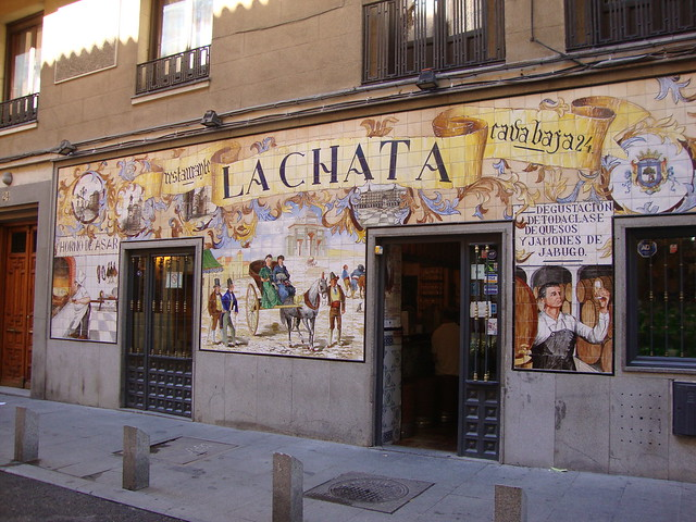 Tapas in La Latina (Madrid) : Restaurant La Chata
