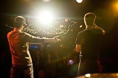 (Summer Yen) Tags: bw music white toronto canada black rock band taiwan chou indie week ching kou 2011