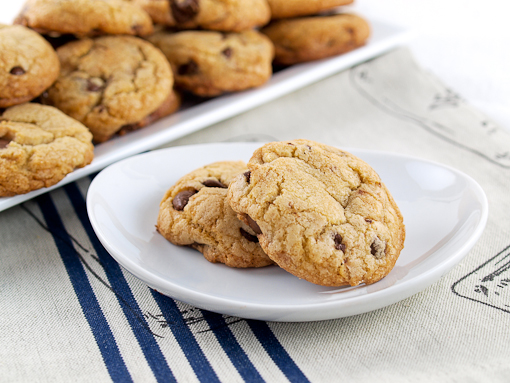 Spiced Brown Butter Toffee Chocolate Chip Cookies
