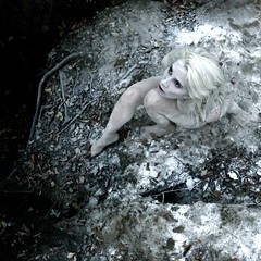Unearthly White (Helen Warner (airgarten)) Tags: snow ice girl photography frozen ground stranger helen warner arrival observer unearthly dicovery airgarten otherworly