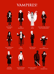 Vampires! (Ben Douglass) Tags: halloween nosferatu dracula edward buffy blade underworld vector vampires vampireslayer count thelostboys countdracula munsters countchocula trueblood billcompton