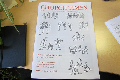 Church Times cover, 21 October 2011