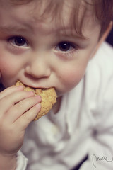 C is for cookie (la franchu) Tags: boy portrait baby cute face look kid eyes cookie child retrato cara adorable mimi yeux biscuit ojos snack lovely littleboy mirada enfant nio gateau visage garon regard mignon goter merienda galletita galleta