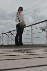 Haaks on deck, QM2, 11 September 2011 (ed_needs_a_bicycle) Tags: maureen qm2 queenmary2 transatlantic oceanliner 2011 6x4