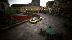 Ahrweiler - Town Square (KennyNguyen1011) Tags: game cars car yellow lens real photography lights zoom 5 awesome tail engine surreal fast headlights racing filter chevy gran unreal corvette turismo ls exhaust slammed flushed fstop zr1 gt5 bookeh hellaflush