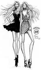 Versace for H&M by Hayden Williams (Fashion_Luva) Tags: november fashion illustration for williams hayden hm versace 17th