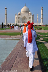 Role Of Colors - Taj Mahal (Abdulaziz Malallah) Tags: india nikon taj mahal agra