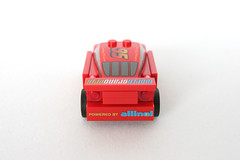 8423 World Grand Prix Racing Rivalry Lightning McQueen - Tail
