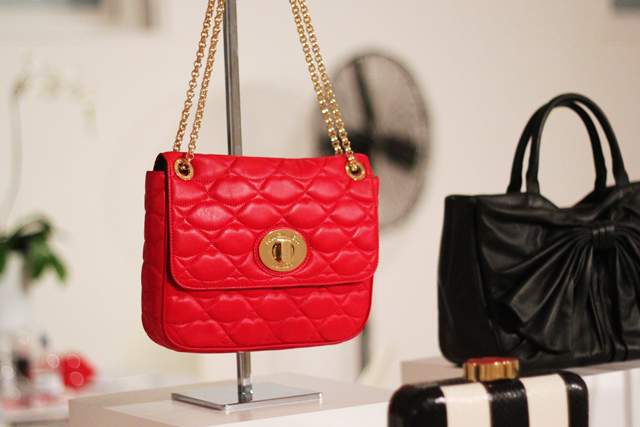 Lulu Guinness quilted bag