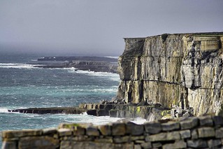 Inishmore ( Inis Mor ) Aran Islands.Galway bay