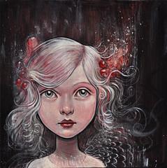 """Little Silver"" (verpabunny) Tags: original painting acrylic kellyvivanco"