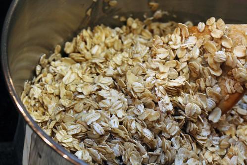 Granola preparation