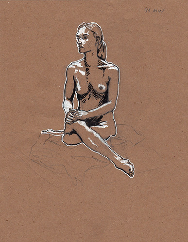 figure drawing 10.25 40 minutes