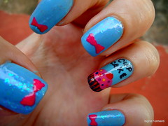 Docinho flocado hehe (Ingrid Formenti) Tags: art nail cupcake lao flocado