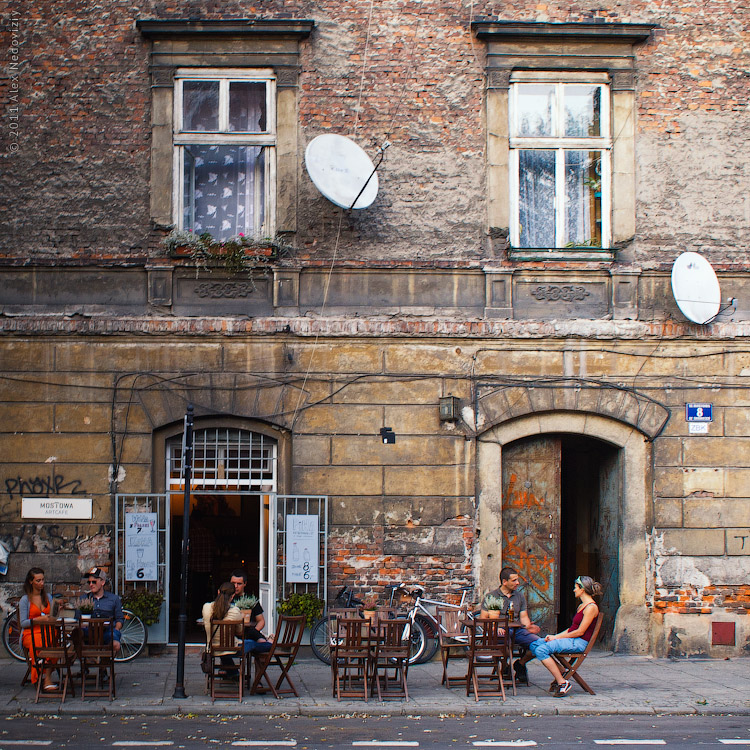Краков, арт-кафе Mostowa © 2011 Alex Nedoviziy