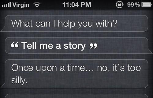 The Stuff Siri Says