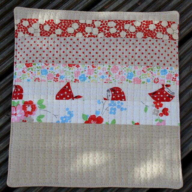"miniquilt ""tummy rumbles"" back"