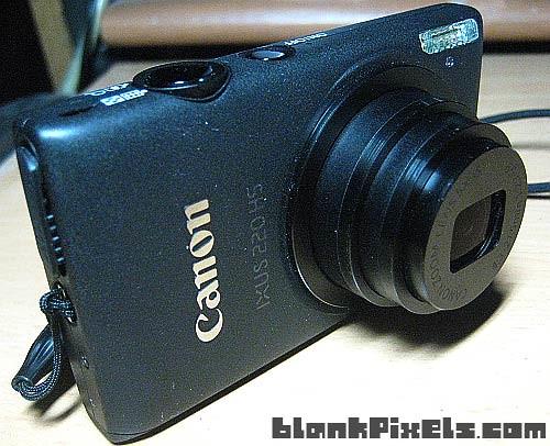 My Canon IXUS 220HS