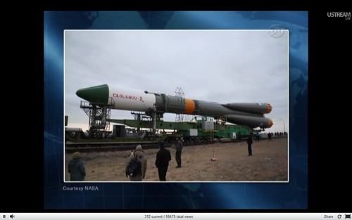 Soyuz Progress travelling to site 1