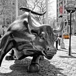 Il Toro di Wall Street, New York, Stati Uniti