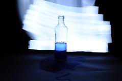 #5 (MaraFemia) Tags: blue light white black water glass set painting nikon long exposure blu 18 55 acqua bianco nero luce vetro lunga esposizione d90 fotemia