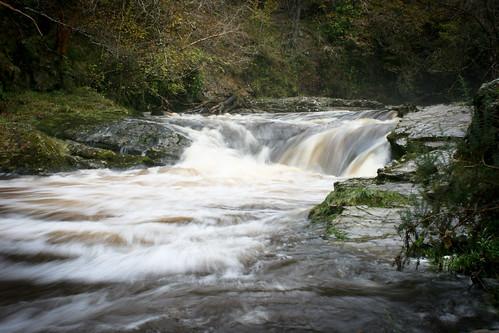 Downriver from Sgwd Isaf Clun-Gwyn