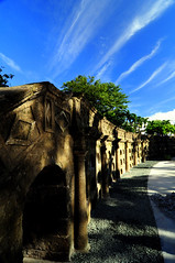Paco Park (adem chua) Tags: cemetery landscape nikon philippines manila tombs niches pacopark d90
