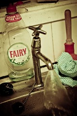 Fairy Liquid (karl101) Tags: water kitchen soap sink clean tap washing plunger antiadvert