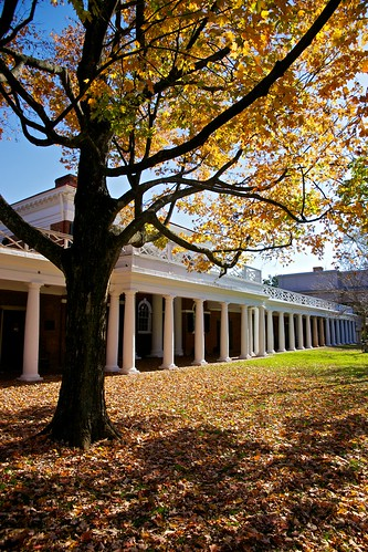 University of Virginia lawn by Vironevaeh, on Flickr