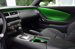 "2011 Synergy Green Camaro 5th Gen custom door panel install • <a style=""font-size:0.8em;"" href=""http://www.flickr.com/photos/85572005@N00/6302945119/"" target=""_blank"">View on Flickr</a>"
