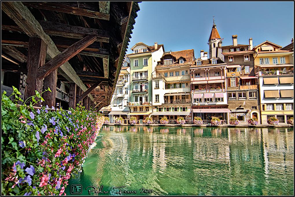 Suiza - Pueblos con encanto - Thun - Puente