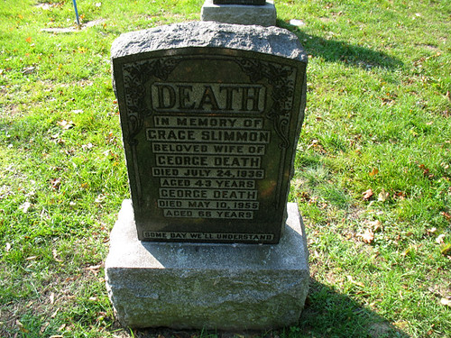 Death's Tombstone