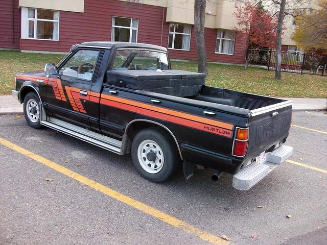 truck nissan pickup hustler 1983 datsun 720
