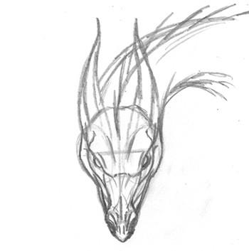 Desenhando a cabeça de um Dragão 6306443825_a7fa46f869