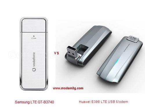 Samsung LTE GT-B3740 VS Huawei E398 USB Modem.jpg