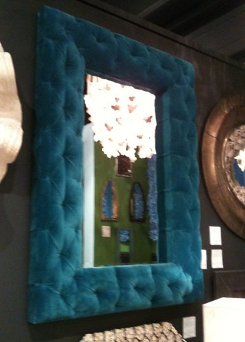 Tufted Mirror High Point Fall 2011. CreateGirl