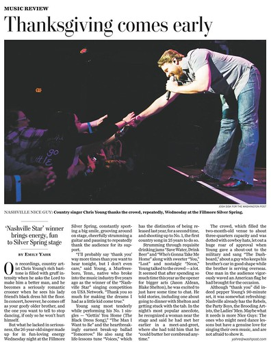 Washington Post Chris Young Tearsheet Cx2 detail
