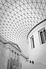 British Museum (lemonshed) Tags: city london museum photoshop canon blackwhite october sigma british 1020mm lightroom 2011 eos400d