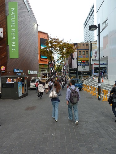 Myeong-dong shopping district