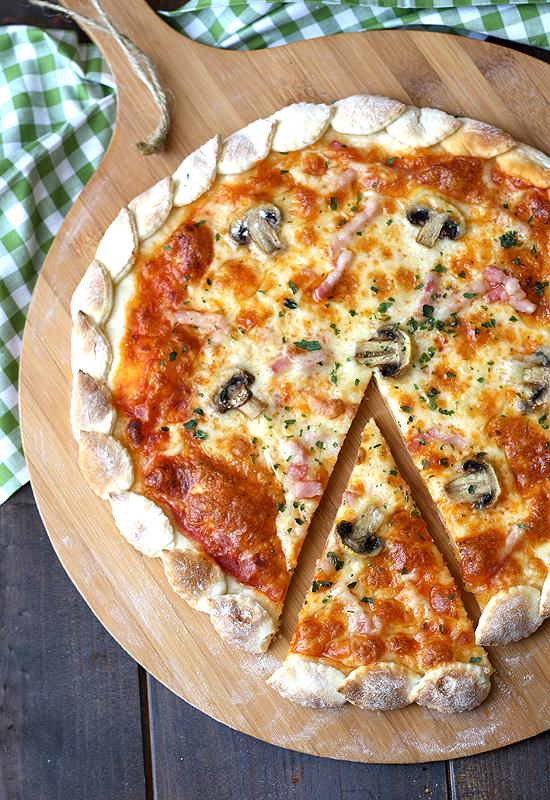Pizza otoñal
