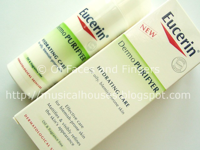 eucerin demopurifyer range hydrating care